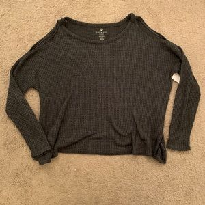 American Eagle open shoulder sweater
